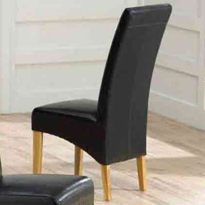 Home Etc Venice Solid Oak Upholstered Dining Chair