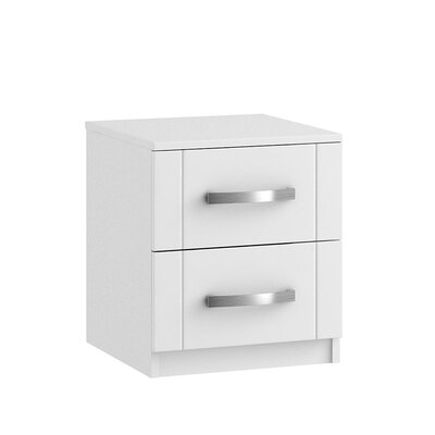 Home Etc 2 Drawer Bedside Table