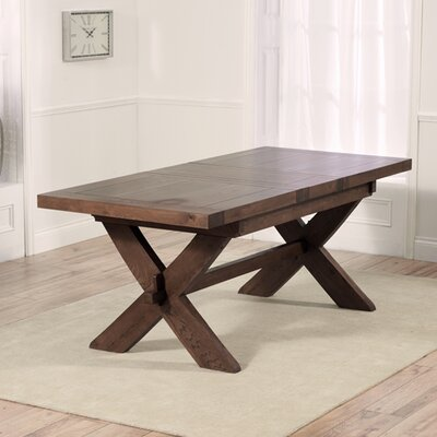 Home Etc Rochelle Extendable Dining Table and 2 Benches