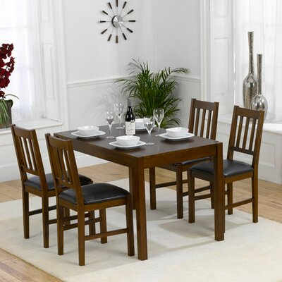 Andover Mills Tulip Dining Table and 4 Chairs