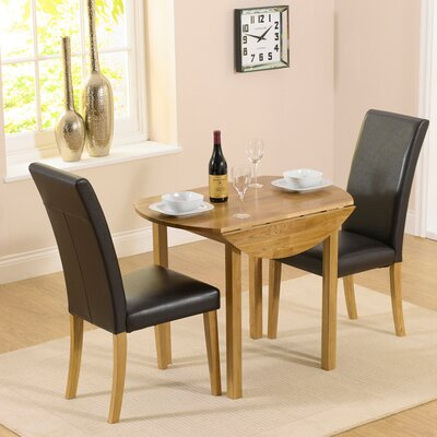 Home Etc Pria Cambridge Extendable Dining Table and 2 Chairs