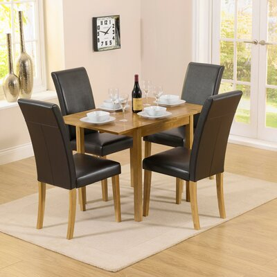 Home Etc Pria Cambridge Extendable Dining Table and 4 Chairs