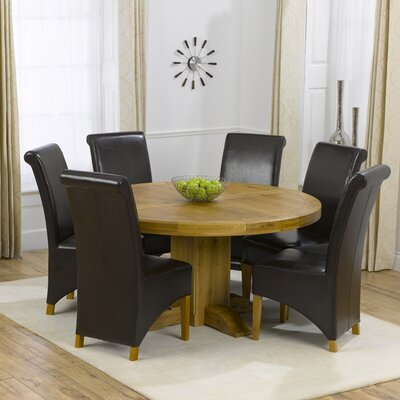Home Etc Garda Extendable Dining Table and 6 Chairs