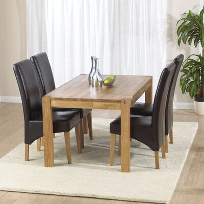 Home Etc Florence Extendable Dining Table and 4 Chairs