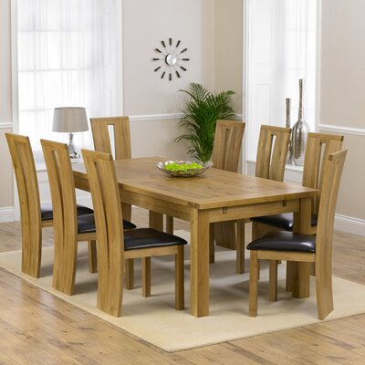 Home Etc Ritual Dining Table and 8 Chairs