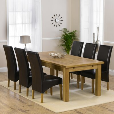 Home Etc Ritual Dining Table and 6 Chairs