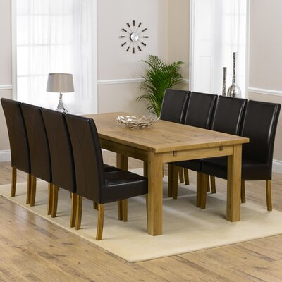 Home Etc Ritual Extendable Dining Table and 8 Chairs