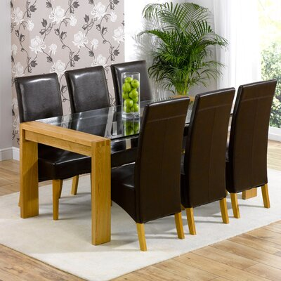 Home Etc Luca Dining Table and 6 Chairs