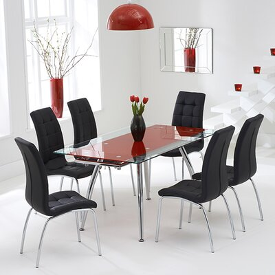 Home Etc Kent Extendable Dining Table and 6 Chairs