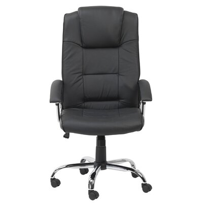 Home Etc High-Back Executive Chair with Lumbar Support