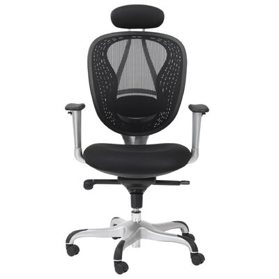 Home Etc Comfort High-Back Mesh Executive Chair with Lumbar Support