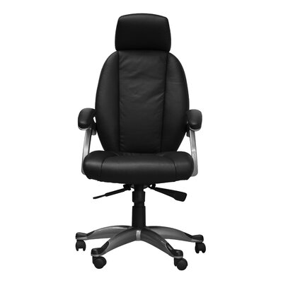 Home Etc Bentley High-Back Leather Executive Chair