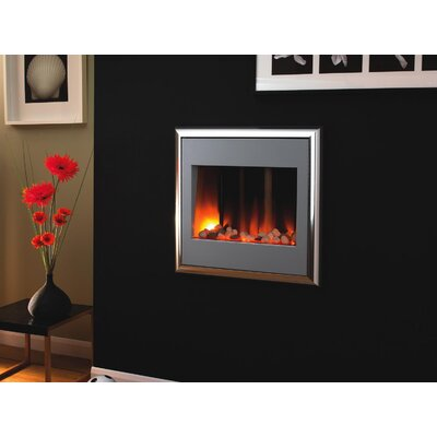 Home Etc Layla Pebble Electric Fireplace