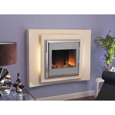 Home Etc Lillian Pebble Electric Fireplace