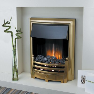 Home Etc Berkley Coal Electric Fireplace