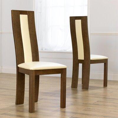 Home Etc Havana Solid Oak Upholstered Dining Chair