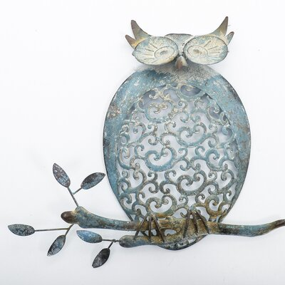 Home Etc Owl on Branch Wall Decor