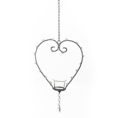 Home Etc Heart Hanging Tea Light