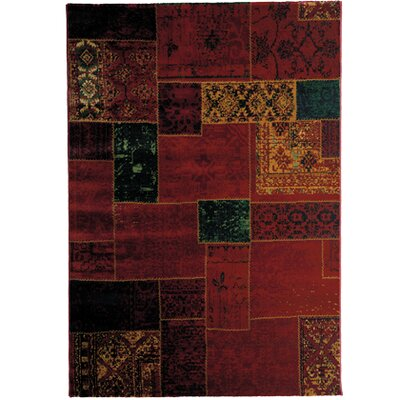 Home Etc Workatch Red Area Rug
