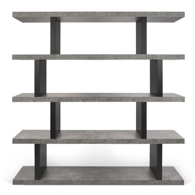 Home Etc Shelly Tall Wide 172cm Standard Bookcase