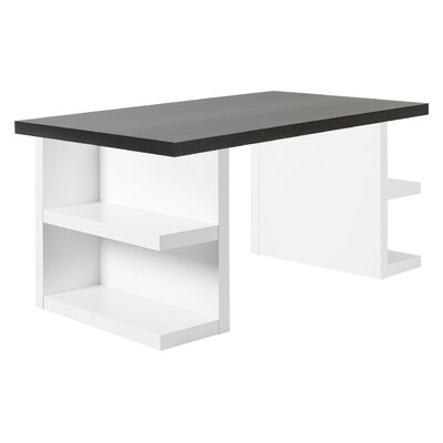 Home Etc Chloe Writing Desk with Bookcase