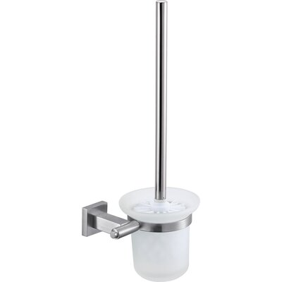 Home Etc Luzeras by UniqueElementary Wall Mounted Toilet Brush Holder