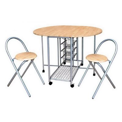 Home Etc Marino Dining Table and 2 Chairs