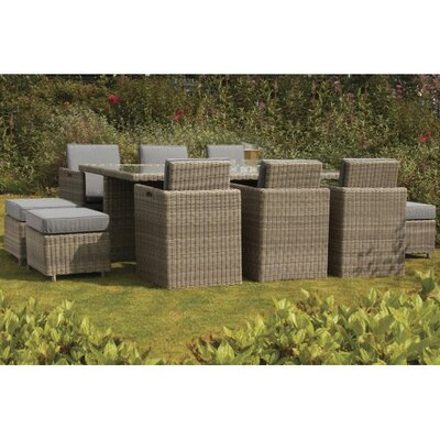 Home Etc Royalcraft Wellington 10 Seater Dining Set with Cushions