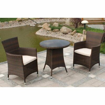 Home Etc Royalcraft Bordeaux 2 Seater Bistro Set with Cushions