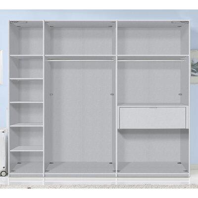 Express Möbel 4-tlg. Zubehör-Set für Schrankbreite 250 cm