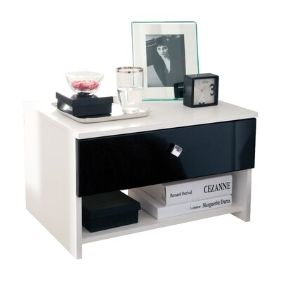 Home Etc Fried 1 Drawer Bedside Table