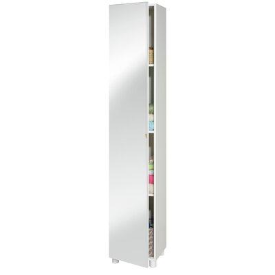 Home Etc Geisa 34.9 x 187cm Tall Bathroom Cabinet