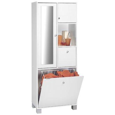 Home Etc Geisa 65.7 x 168.5cm Tall Bathroom Cabinet