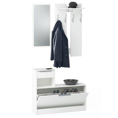Home Etc Bils 3 Piece Wardrobe Set