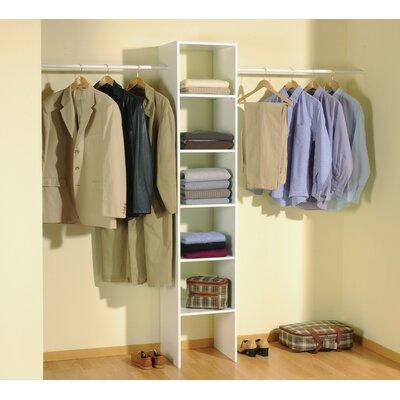 Home Etc Hausen Clothes Rail and Shelf Combination