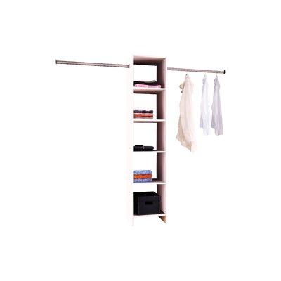 Home Etc Hausen Economique Clothes Rail and Shelf Combination