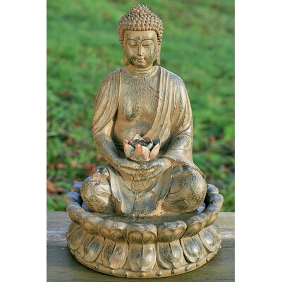 Home Etc Buddha Fountain Ornament