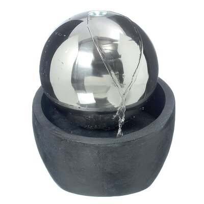 Home Etc Polyresin Universe Ball Fountain