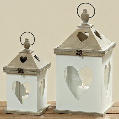 Home Etc Tulsa 2-Piece Lantern Set