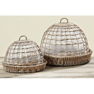 Home Etc 2 Piece Gloche with Plate Set