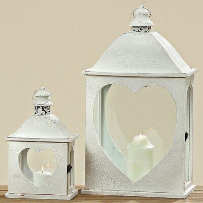 Home Etc Daisy 2-Piece Lantern Set