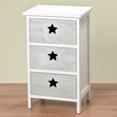 Home Etc Olivia 3 Drawer Chest of Drawers