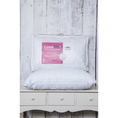 Home Etc Quilted Heart Extra Full Standard Pillow