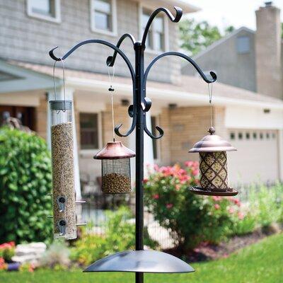 Home Etc Deluxe Bird Feeding Station in Black