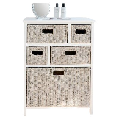 Home Etc Tanya 5 Drawer Chest