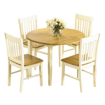 Home Etc Orkneys Extendable Dining Table and 4 Chairs