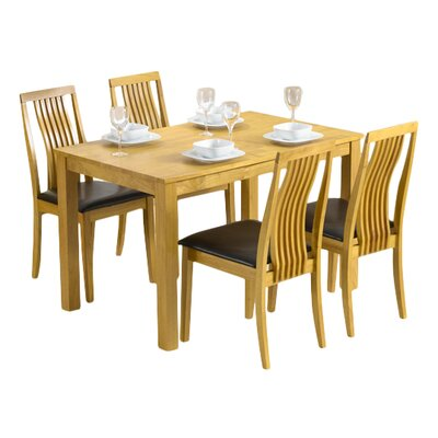 Home Etc Jalitah Dining Table and 4 Chairs