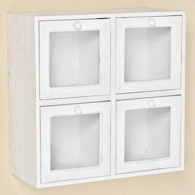 Home Etc Clifford 4 Door Wall Cabinet