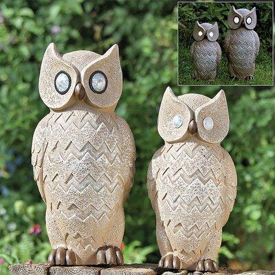 Home Etc Owl Solar Decorative Light