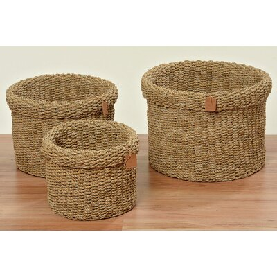 Home Etc Clara 3 Piece Basket Set
